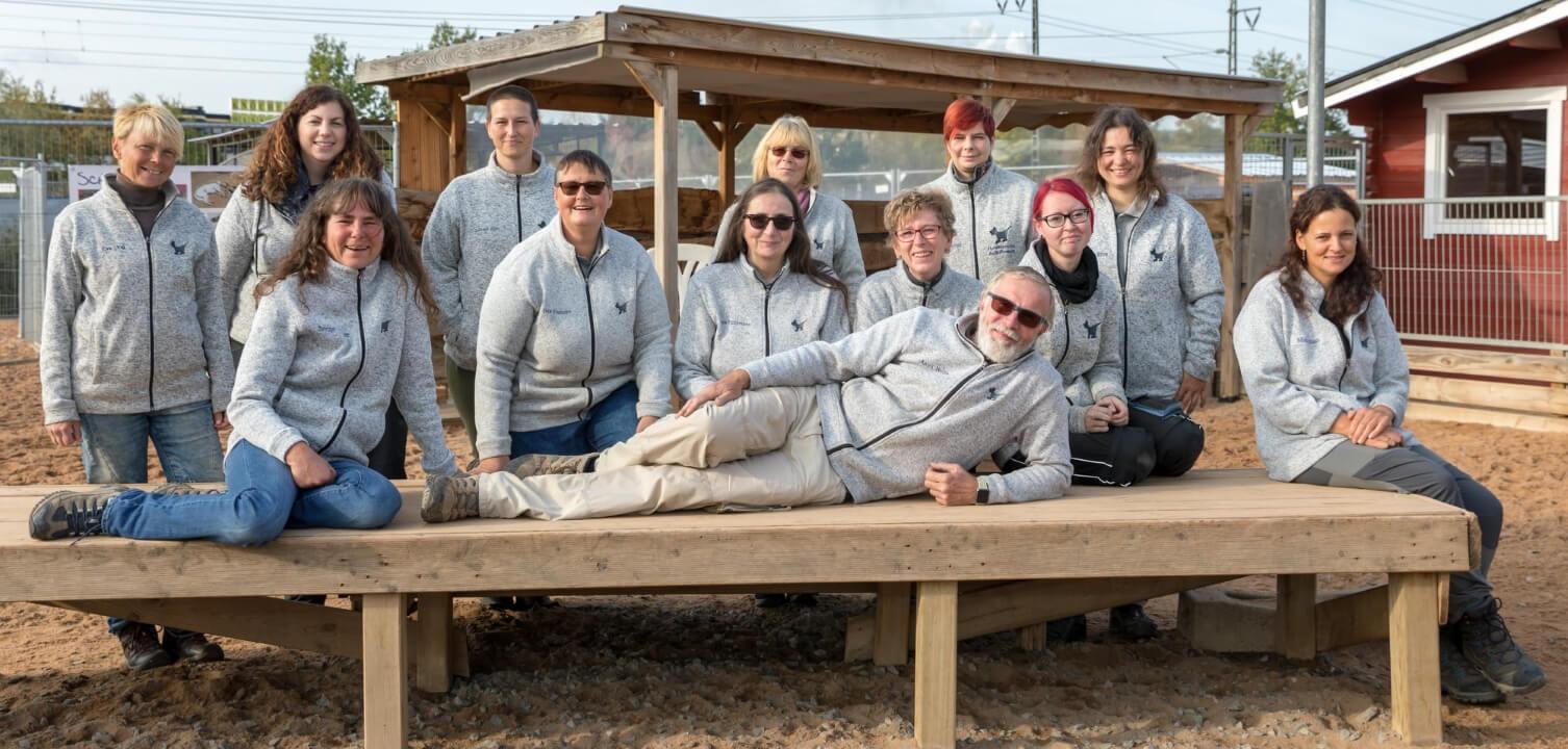 Petra Führmann, Iris Franzke & das Team des Hundezentrum Aschaffenburg