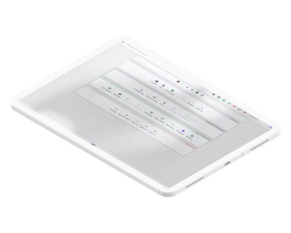 DogWorkers auf dem Tablet oder dem iPad